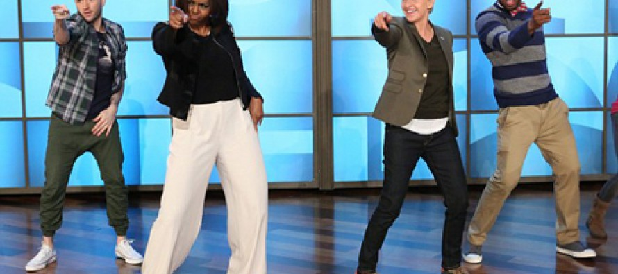 Ever Embarrassed By Mom's Dancing? What if Mom is FLOTUS?