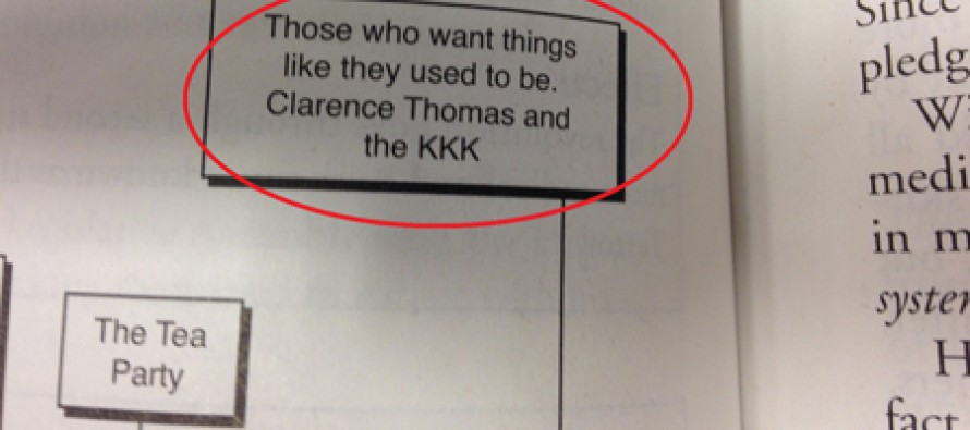 AP Test Guide: Clarence Thomas Is A Fascist In League With KKK