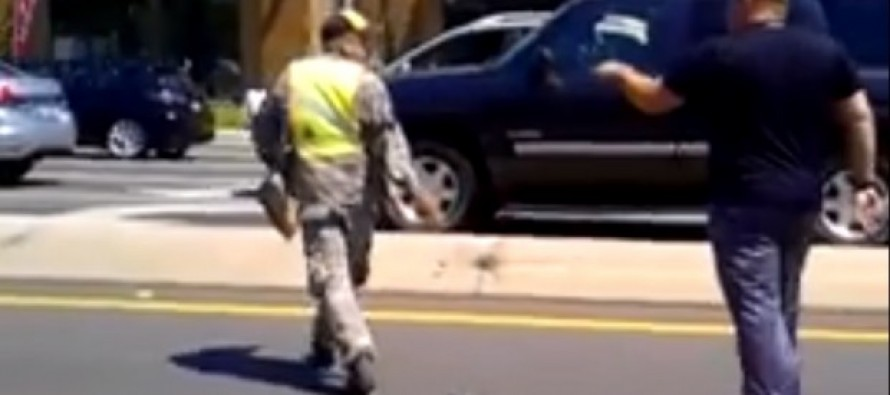'Take That Uniform Off!': Veteran Confronts Panhandler Wearing Uniform in Alleged Case of Stolen Valor