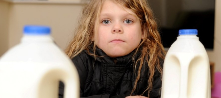 Young Girl Drinks Iceland Milk Which May Have Actually Been Glue