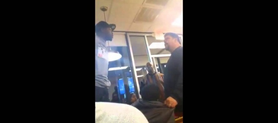 A Restaurant Patron Allegedly Puts His Hands on a Woman – And A Very Large Man Intervenes