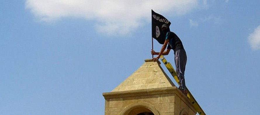 Devastating Photographs Reveal How Islamic State Thugs Have Destroyed Christian Churches