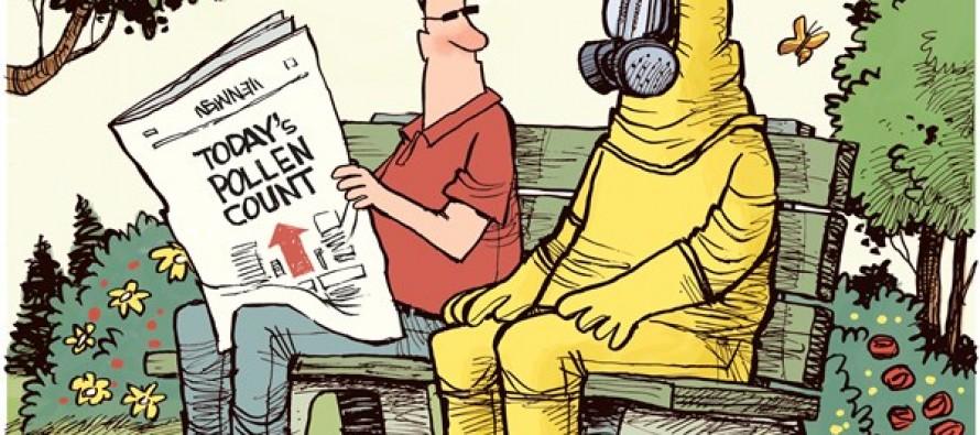 Pollen Count (Cartoon)