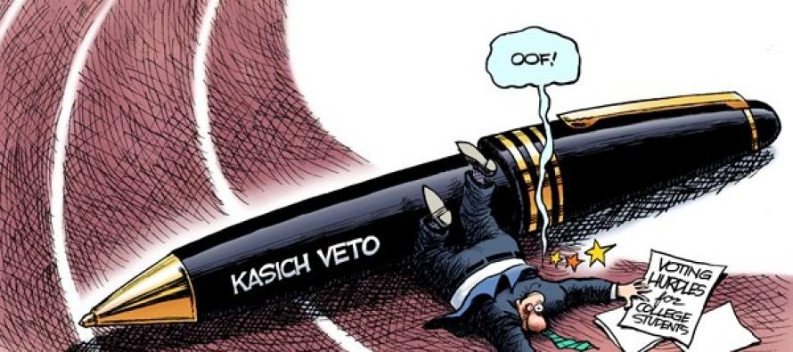 LOCAL OH – Voting Hurdle (Cartoon)