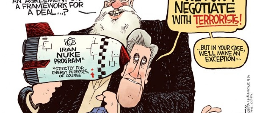 Iran Nuke Deal (Cartoon)