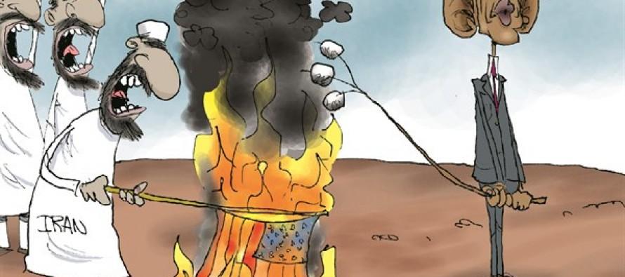 Obama Easy On Iran (Cartoon)