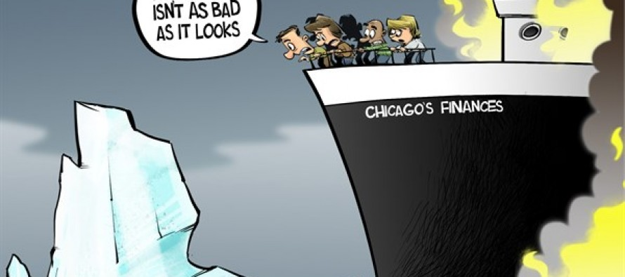 Chicago's situation (Cartoon)