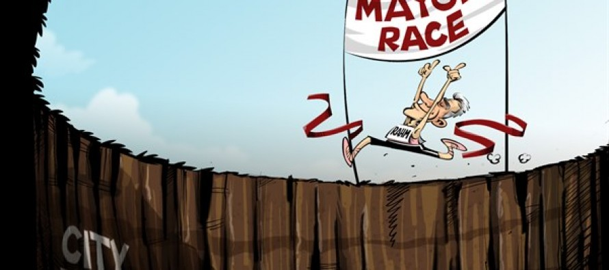 Rahm wins (Cartoon)