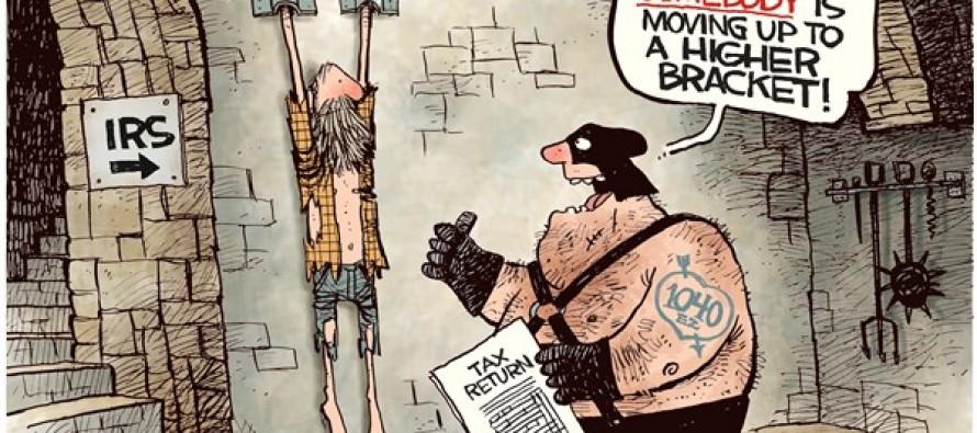 HIgher Bracket (Cartoon)