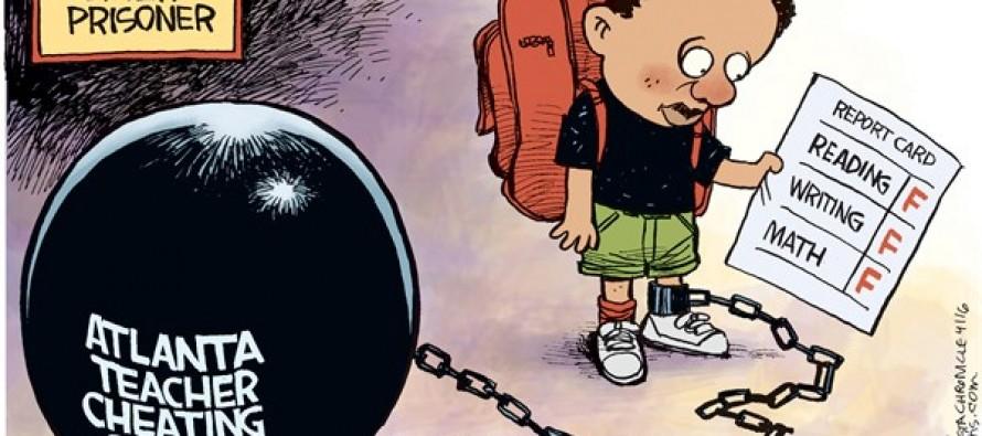 Atlanta Teacher Scandal (Cartoon)