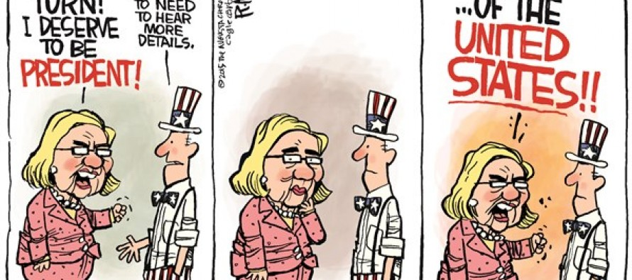 Hillary Details (Cartoon)