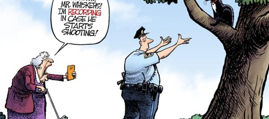 Policing the Police (Cartoon)