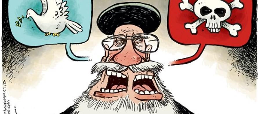Iran Doublespeak (Cartoon)