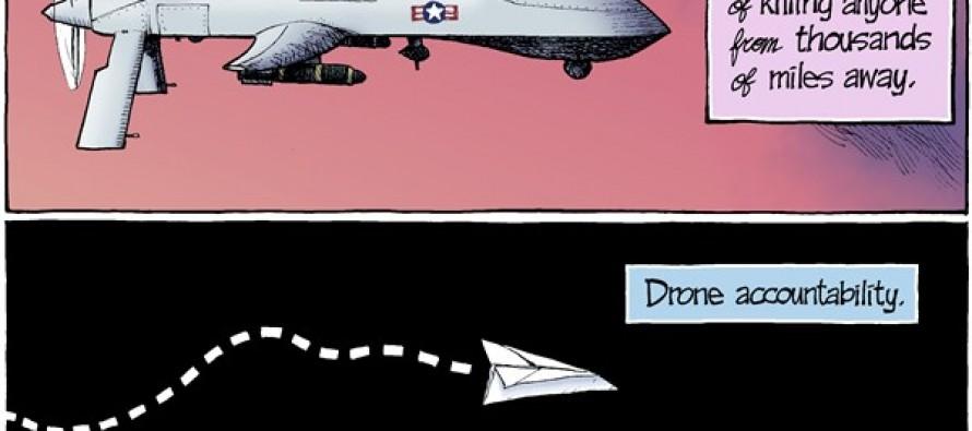 Drone Strikes (Cartoon)