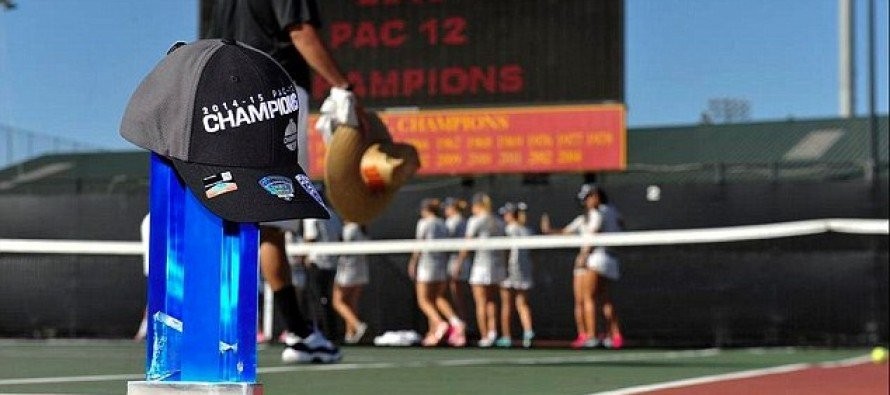 OOPS: USC Women's Tennis Team Accidentally Smashed Their Champion Trophy While Celebrating