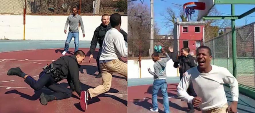 Teen breaks Police Officer's ankles… Officer is fine, Ego is not. [VIDEO]