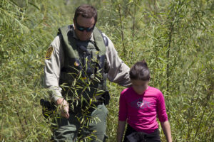 Border Patrol Riverine Unit Rescues Child Stranded on Rio Grande