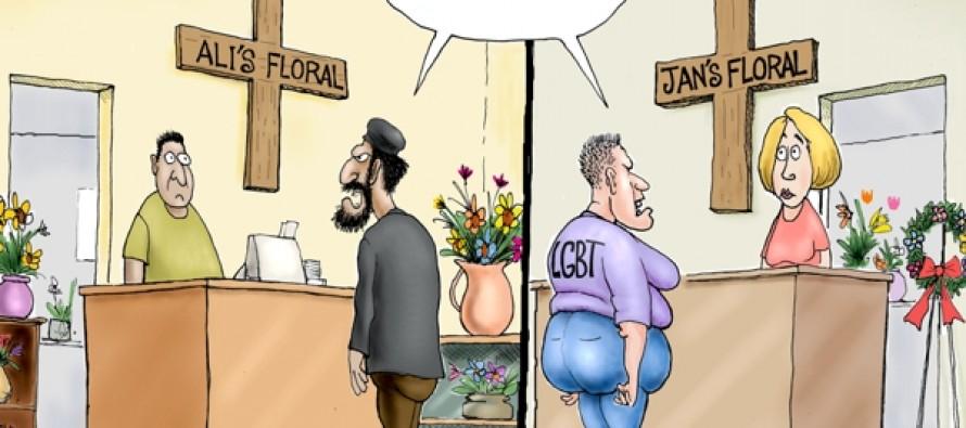 Bearing the Cross (Cartoon)