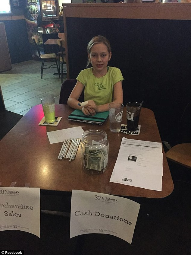 Rose raising money