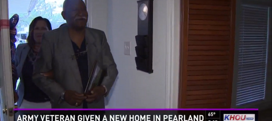 Sixty-Three Year Old Veteran Finally Gets His First Home… For Free