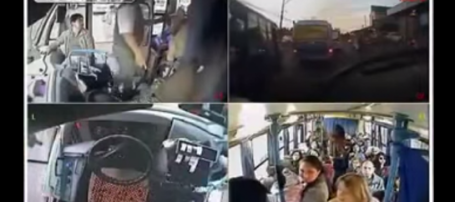 Bus Driver Gives Passengers a Lesson in Good Manners – Offers Woman and Child His Seat