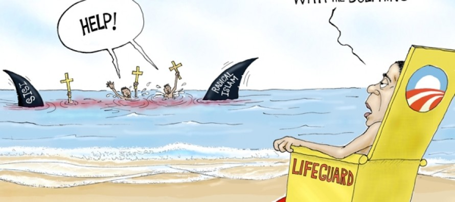 Christians Murdered (Cartoon)