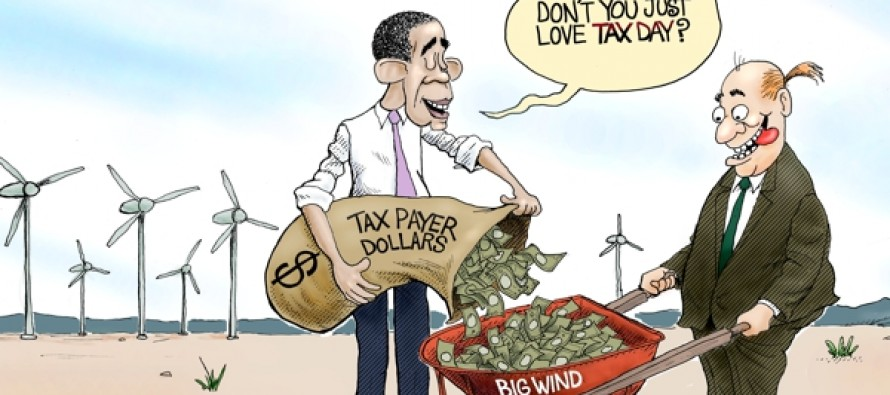 Taxes In The Wind (Cartoon)