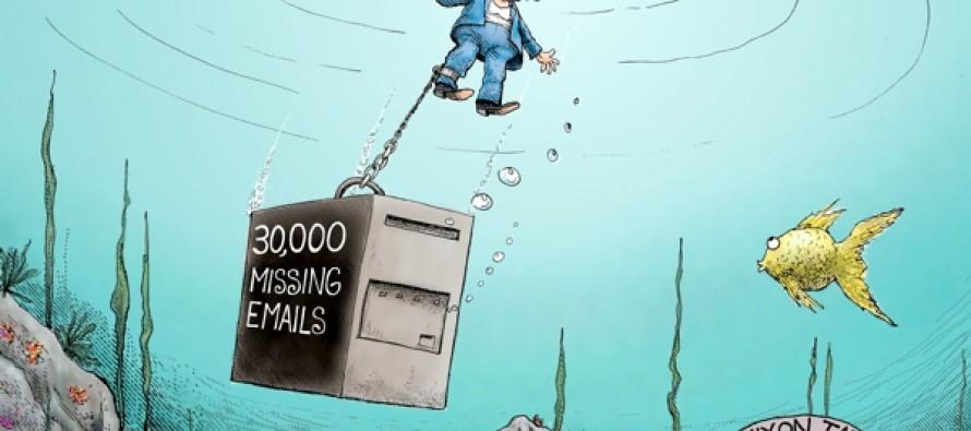 Hillary Launched Cartoon (Cartoon)
