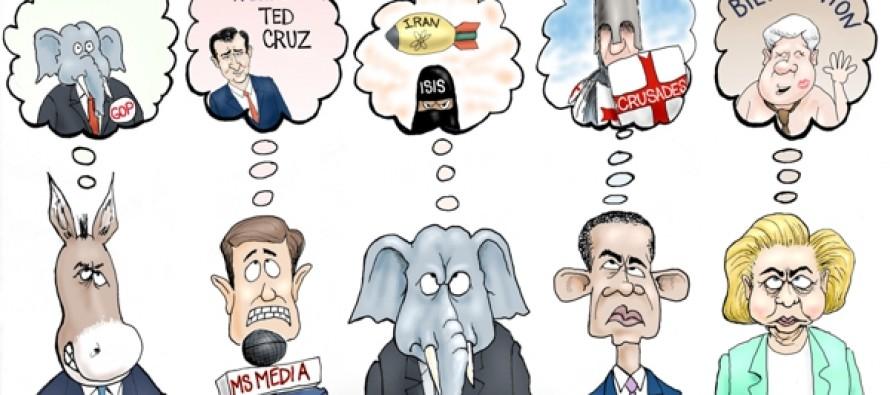 Sleepless In DC (Cartoon)