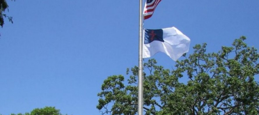 A Defiant Small Town Votes To Fly Christian Flag Over City Hall; 'It Was The Right Thing To Do'