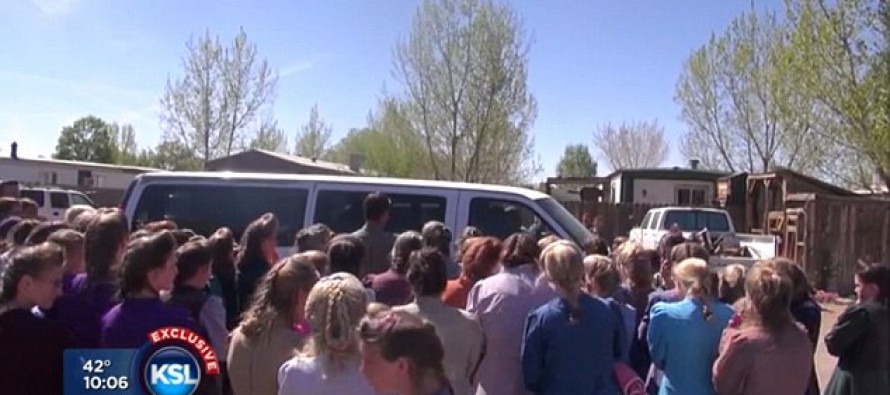 Mother Who Escaped Polygamous Cult Is Confronted By HUNDREDS Of Followers As She Tried To Rescue Her Kids