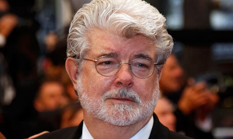 Film director George Lucas at the 65th Cannes Film Festival