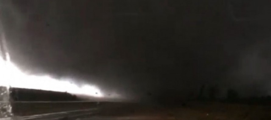 VIDEO: 'It Is Coming Right Over the Top of Me': Driver Records Video of Deadly Tornado — and It Gets Too Close for Comfort
