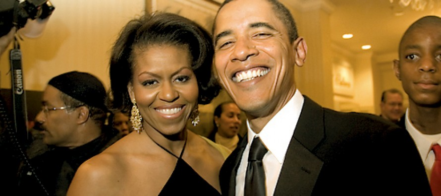 Obama Claims Pay Disparity in The White House Because Michelle Doesn't Get Paid