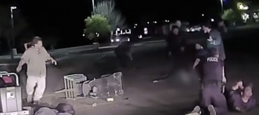 White police officer shoots and kills white man for grabbing his gun, but that won't be the headline