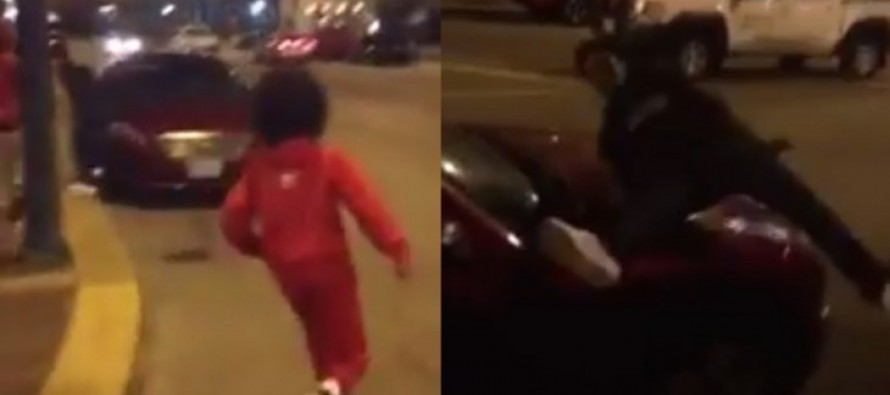 [VIDEO] 'Put 'Em in a Coffin': Teens Body Slam Strangers' Parked Cars, but Then, Instant Karma Takes Them by Surprise!