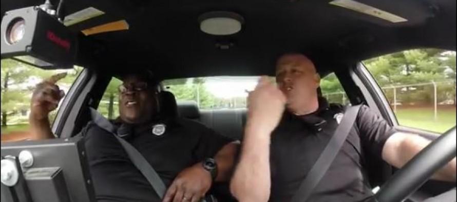 Singing Delaware cop back for dashcam duet