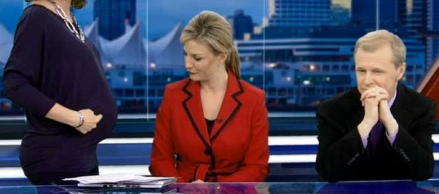 VIDEO: After They Called Her Body 'Gross', a Pregnant Anchor's Colleagues Give Rude Viewers the Perfect Response