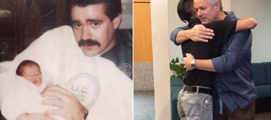 Police Officer is Reunited With the Newborn He Rescued From a Dumpster in 1989