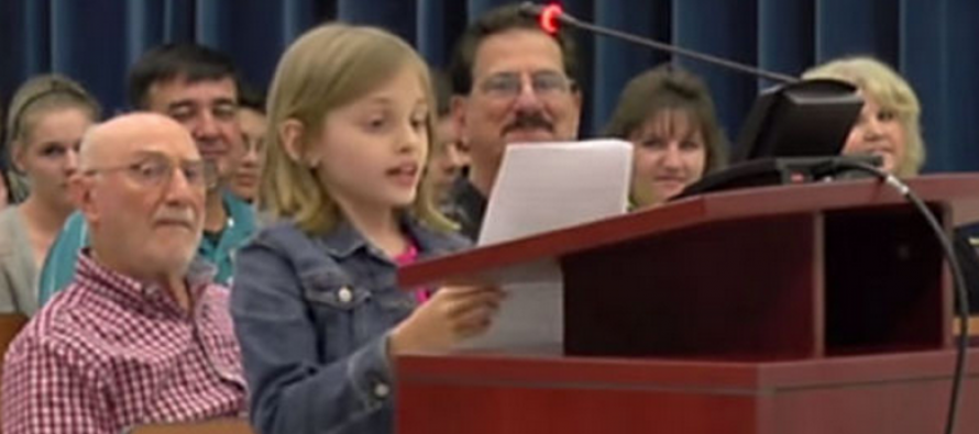 VIDEO: A 9-Year-Old Tells Her School Board Exactly What She Thinks of Florida's Standardized Testing, and It's Brutal