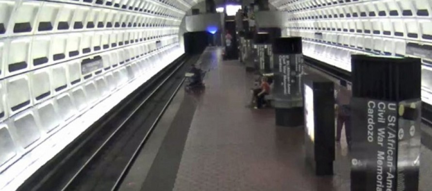 WATCH: Commuters in D.C. Risk Their Lives to Rescue a Wheelchair User Who Tumbled Off the Platform and Onto the Tracks