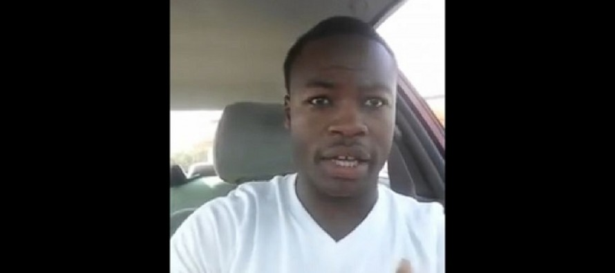 VIDEO: 'Not All Officers are Racist': A Black Man's Defense of Police Goes Viral