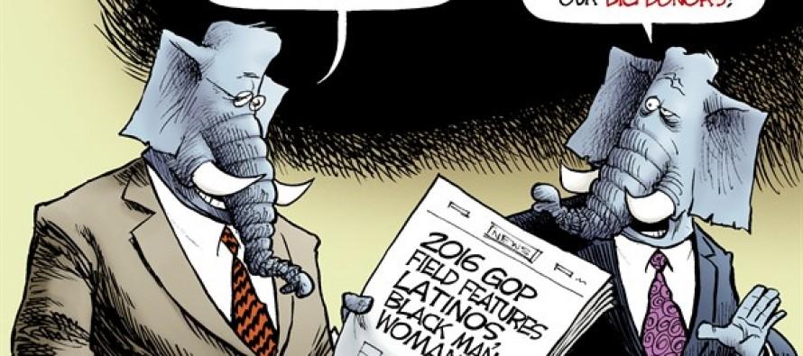 GOP Diversity (Cartoon)