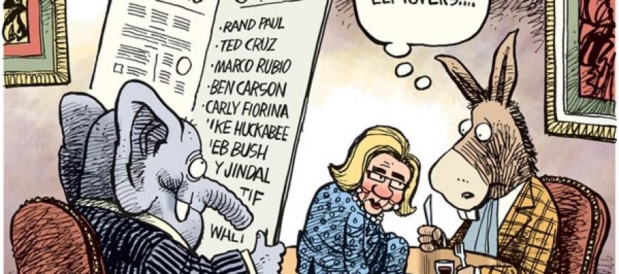 Hillary Leftovers (Cartoon)