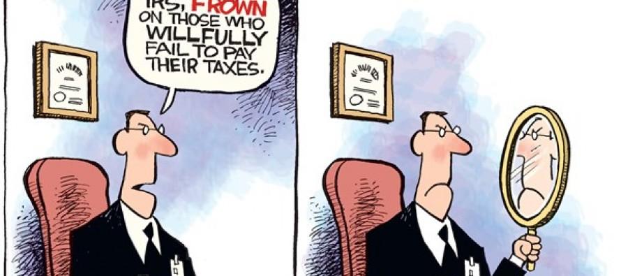 IRS Workers (Cartoon)