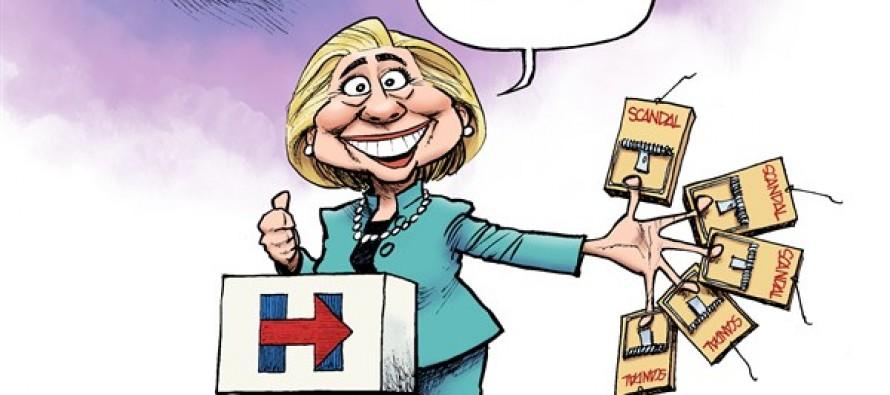 Slick Hillary (Cartoon)