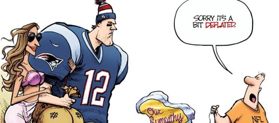 Poor Tom Brady (Cartoon)