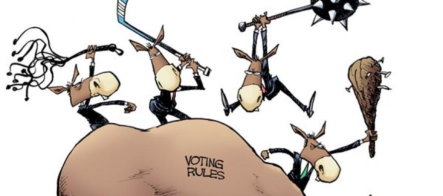 LOCAL OH – Voting Dead Horse (Cartoon)