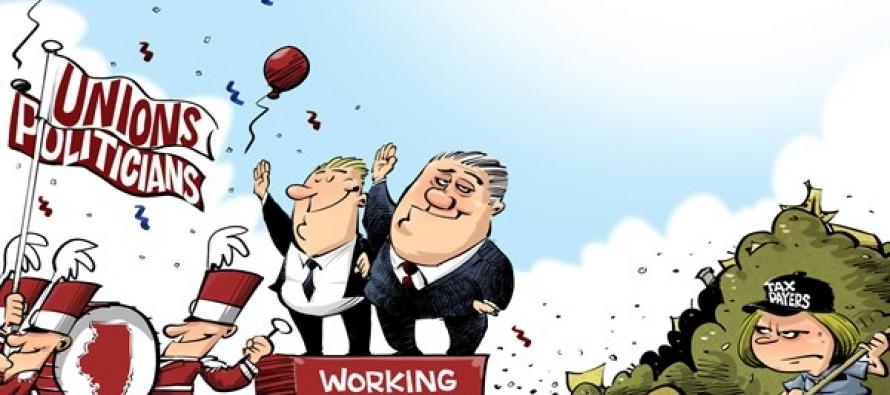 Working together (Cartoon)