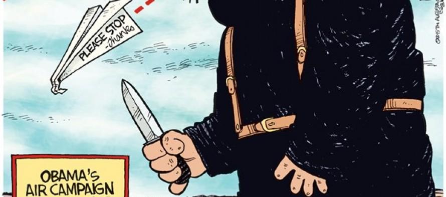 ISIS Air Campaign (Cartoon)